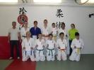 Die Kyu-Prüfung der Jiu Jitsu-Gruppe verlief sehr erfolgreich.
