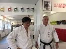 Souke Hiroyuki Inagaki und Shihan Willi Donner