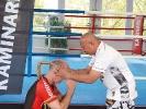 Das goldene Mongkon ist eine der hoechsten Auszeichnungen des Muay Thai