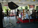Dreharbeiten bei KAMINARI zum MMA-Film Champ