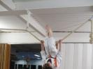 Akrobatische Techniken  - Klettern