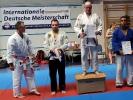 Die Siegerehrung der Erwachsenen im Jiu Jitsu Wettkampf.