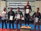 Auch im Grappling schlugen sich die KAMINARIs sehr gut, Anton Krischer wurde erneut Deutscher Meister.