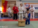 Die stolze Siegerin des Judo-U8- Pools auf der IDM 2017