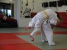 Ein ausgehobener Seoi-Nage für die Judo-Prüfung 2014