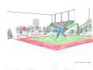 Beitrag von Leonie Pass zum Ausmal-Wettbewerb der Sportschule KAMINARI.