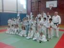 Die Judokämpfer beim Turnier für den Nachwuchs in Angermund