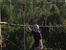 Entspannung nach Art des Tai Chi in zehn Metern Höhe.