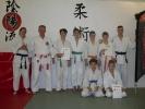 Die Jiu Jitsu-Kindergruppe konnte mit ihrer Leistung zufrieden sein.