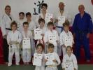 Egal ob groß oder klein: Unsere KAMINARI-Judoka freuten sich sichtlich über ihre bestandenen Prüfungen.