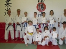 Auch im Karate-Team verlief die Kyu-Prüfung erfolgreich.