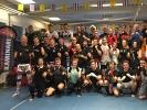 Gruppe 2 in der Sportschule KAMINARI mit Arjan Pinsinchai