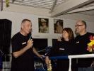 Willi Donner dankt Anni Donner und André Allerdisse für ihre unermüdliche Arbeit für KAMINARI.