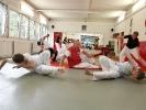 Mit dem Negativa kann man im Capoeira gut ausweichen