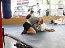 Bei KAMINARI treffen in Lehrgaengen Schueler aller Sportarten aufeinander
