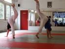 Radschlag aus dem Capoeira zum Aufwaermen