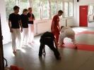 Auch Rammstoeße gehoeren im Capoeira dazu