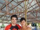 KAMINARI-Trainer Nik konnte viel für das Training bei KAMINARI mitnehmen.