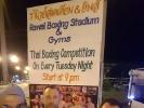Der Besuch von Muay Thai-Wettkämpfen durfte auf der Trainingsreise natürlich nicht fehlen.