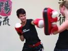 Beat-Kick bedeutet: Spaß am Auspowern mit Box- und Tritttechniken.
