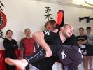 Stefan Larisch zeigt einen fürs MMA typischen Takedown