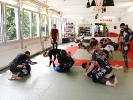 Grappling bei KAMINARI - Training von Bodenkampftechniken im Rashguard ohne Gi