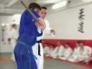 Auch die Verteidigung gegen einen bewaffneten Angriff ist Teil des Jiu Jitsu-Trainings.