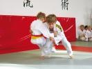 Der Wurf O-Soto-Gari ist eine der Grundtechniken des Judo.