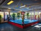 Die Sportschule KAMINARI verfügt über einen eigenen Boxring für intensives Training unter Wettkampfbedingungen.