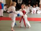 Karate heißt, auch größere Gegner zu besiegen.