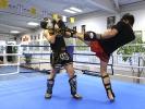 Kickboxen ist auch als Vollkontakt-Karate bekannt.