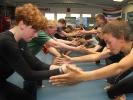 Koordination und Ausdauer sind Teil des Krav-Maga-Trainings bei KAMINARI